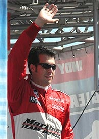 Illustration for article titled Wheldon Wins Race, Hornish Takes IRL Title: Chicagoland