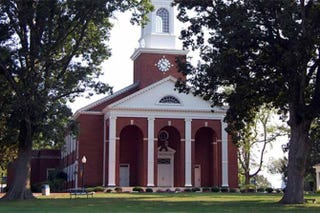 Pfeiffer Chapel on the campus of Bennett College in Greensboro, N.C. Courtesy of Bennett College