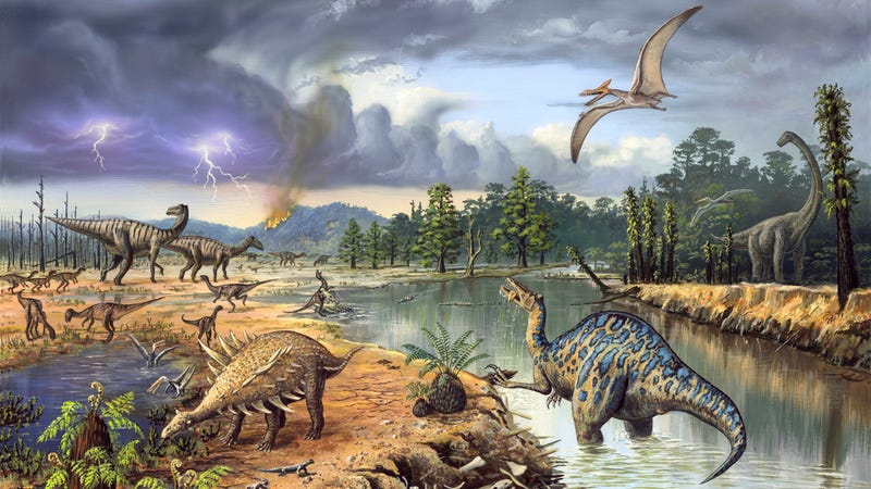 Illustration for article titled Stupid dinosaurs may have been done in by their stupid tastebuds
