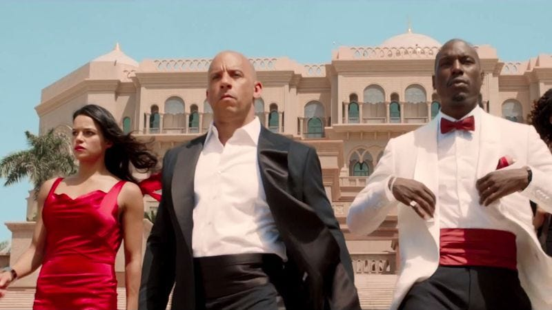 Illustration for article titled Furious 8 officially becomes Fast 8, will probably still have plenty of road rage
