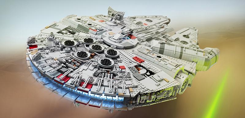 Star Wars Fan Spends A Year Building The Best LEGO