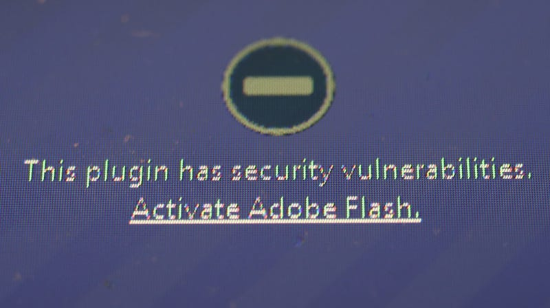 You Really Shouldn't Be Running Adobe Flash Player Anymore