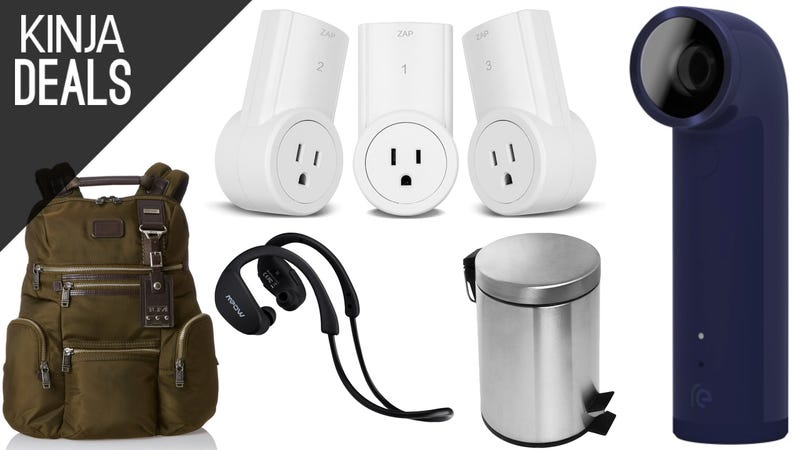 Illustration for article titled Today's Best Deals: Tumi Bags, Bluetooth Headphones, Outlet Switches, and More
