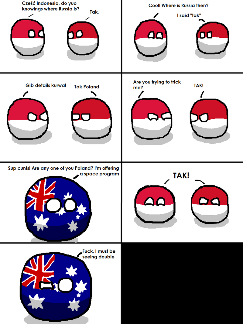Illustration for article titled Daily Polandball: Confusion.