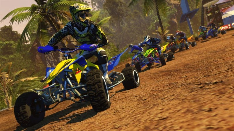 Illustration for article titled Climb On Your ATV and Make Haste in These New Haste Screens