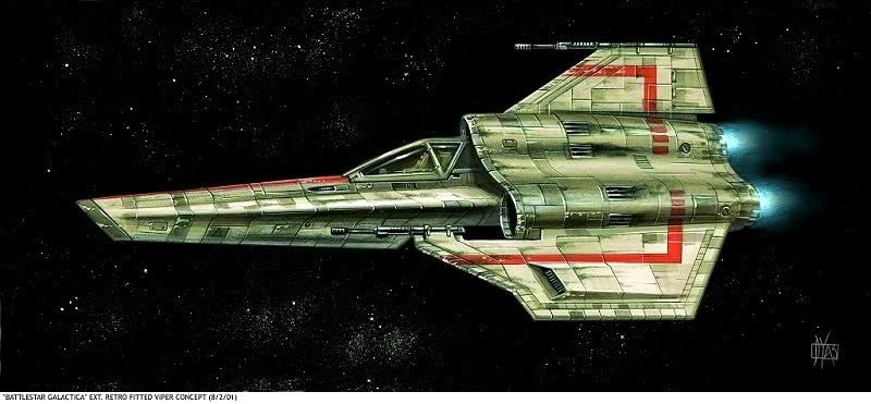 Illustration for article titled Stunning Concept Art From The Battlestar Galactica You Never Saw