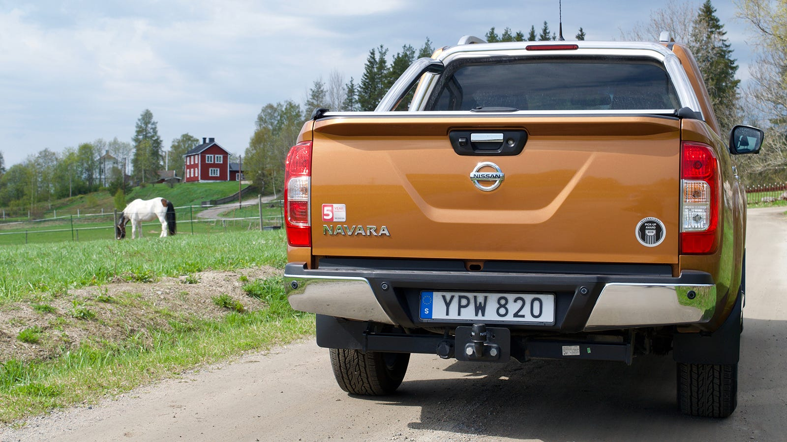 The Nissan Navara Is a Solid Truck
