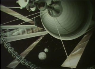 Illustration for article titled NASA In the 1970s: 10,000-Person Space Colony By the Year 2000!