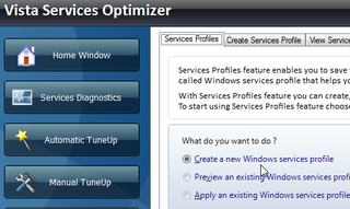 Illustration for article titled Vista Services Optimizer Manages Resources With Tweaking Profiles