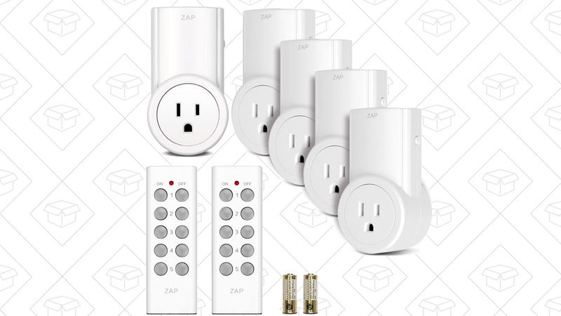 Etekcity 5-Pack Outlet Switches, $24