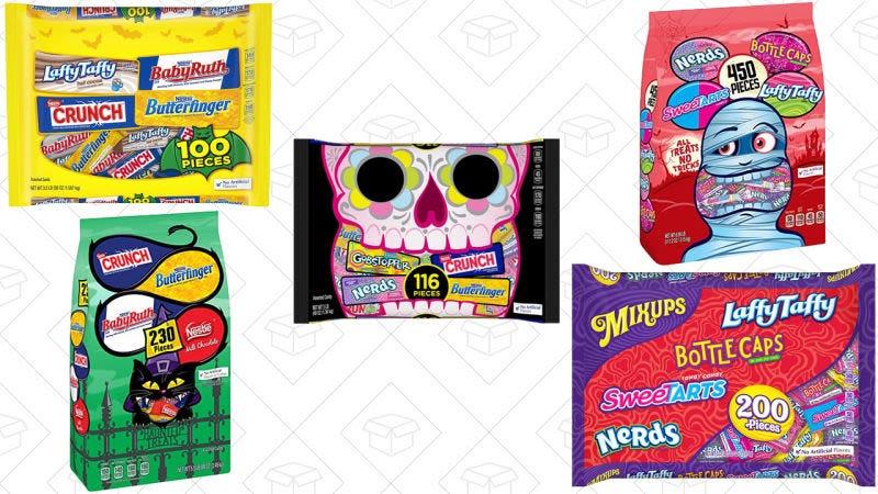 20% de descuento en dulces de Halloween