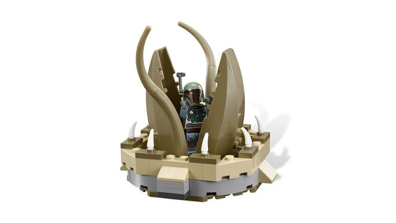 Illustration for article titled Return of the Jedi LEGO Has a Freakin' Sarlacc Pit