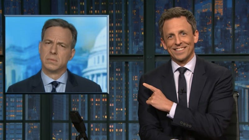 Late Night With Seth Meyers (Screenshot: NBC)