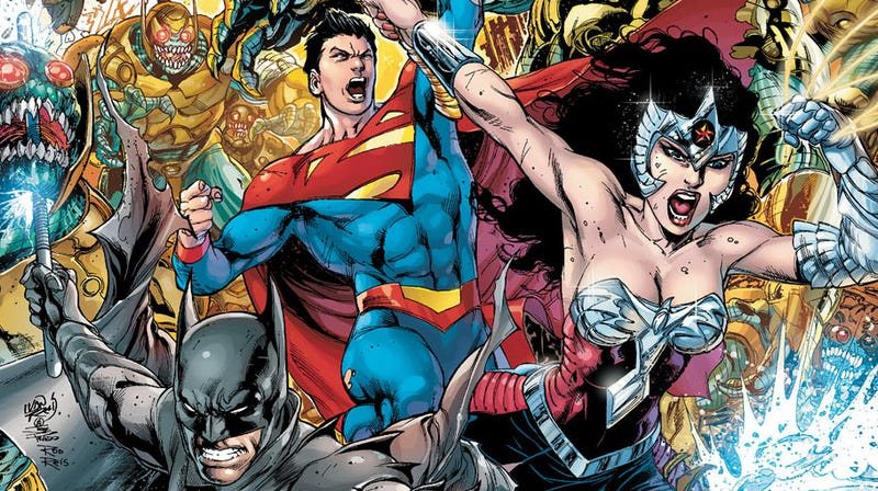 Illustration for article titled Earth 2 Lets James Robinson Re-Invent DC Comics' Biggest Superheroes
