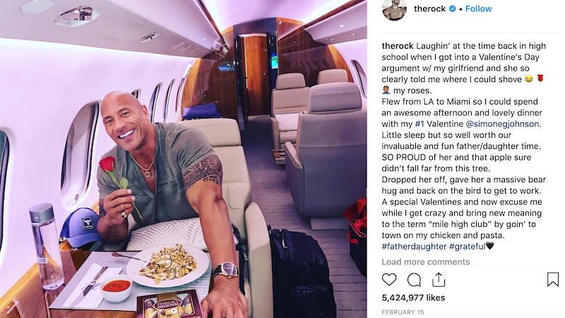 Illustration for article titled I Am a Scholar and My Area of Expertise Is Dwayne 'The Rock' Johnson's Instagram Account