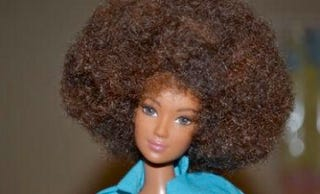 Illustration for article titled Barbie Goes Natural for Christmas