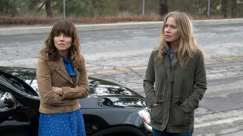 Linda Cardellini and Christina Applegate star in Dead To Me