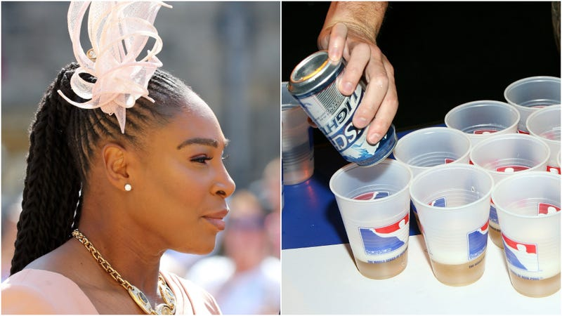 Illustration for article titled All hail Serena Williams, supreme duchess of beer pong