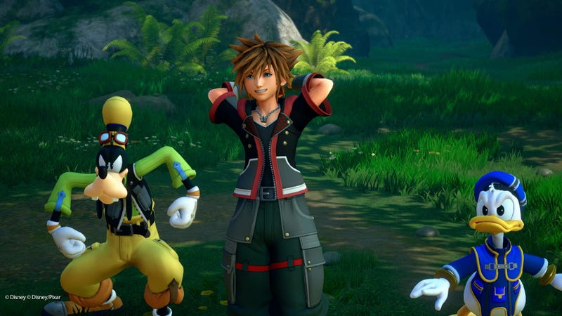 Illustration for article titled Kingdom Hearts III Will Be Out In January