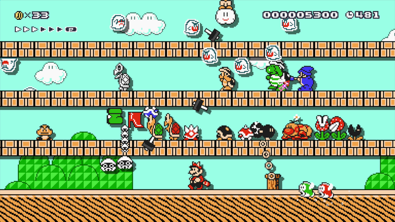 Illustration for article titled Nintendo Finally Fixed Mario Maker's 100 Mario Challenge