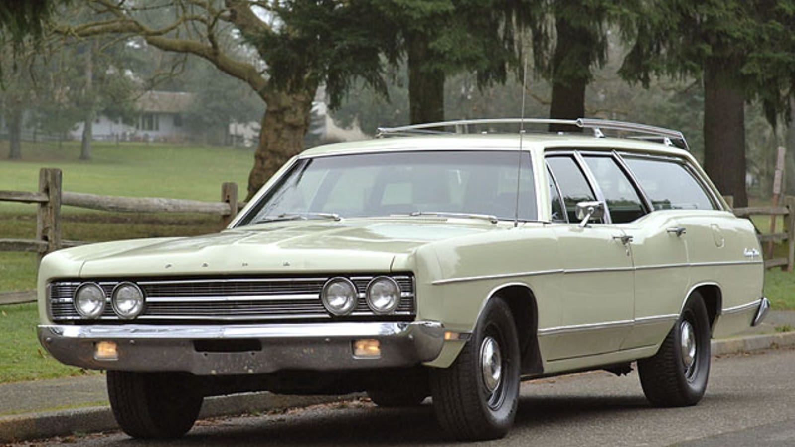 1969 ford galaxie wagon is a factory built sleeper