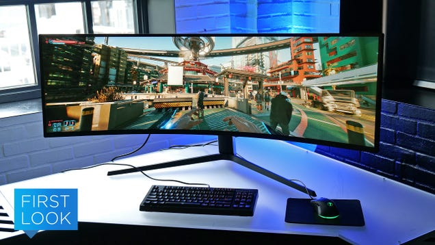 Samsung s Massive Odyssey Neo G9 Is the New King of Gaming Monitors