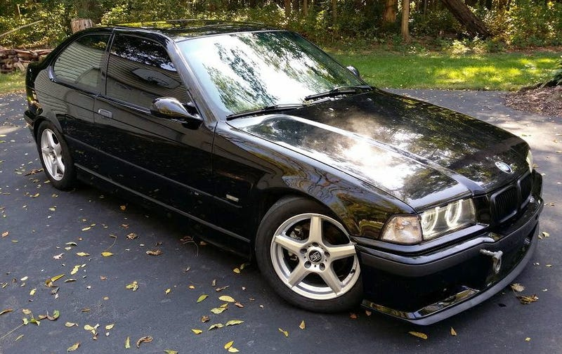 Illustration for article titled For $6,499, Could This Supercharged 1997 BMW 318ti Handle The Pressure?