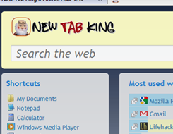 Illustration for article titled New Tab King Adds Recently Used Items to the New Tab Page