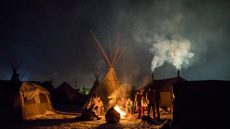 'We Don't Go Until They Do': Cautious Celebration and Skepticism At Standing Rock