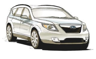 Illustration for article titled Subaru Sketch: Forester? Outback? An Impossible Dream?