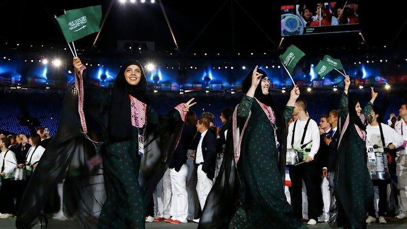Illustration for article titled Saudi Judo Champion Will Wear Special, Ass-Kicking Hijab During Olympic Competition
