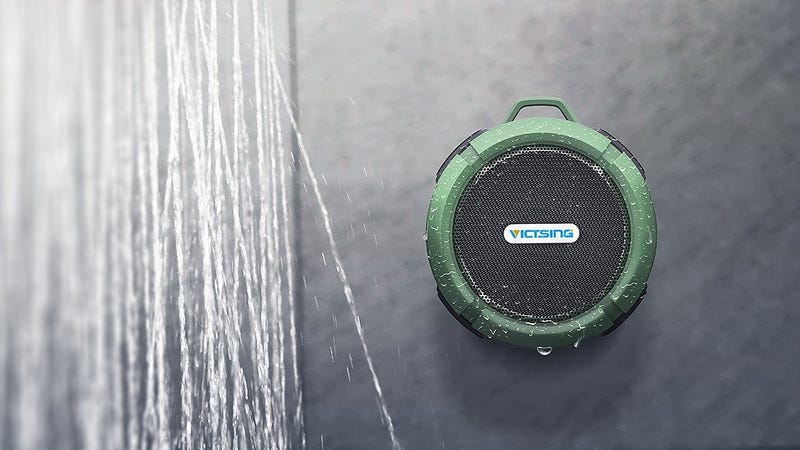 VicTsing Shower Speaker, $15 with code UDXKRIWQ