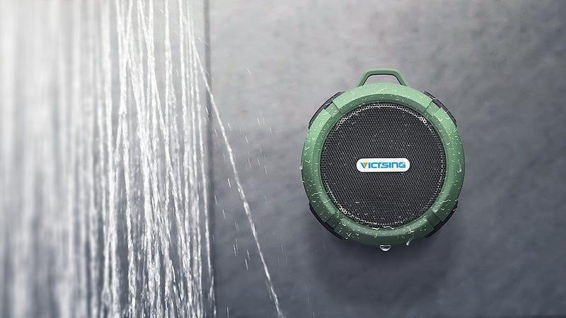 VicTsing Shower Speaker | $14 | Amazon | Promo code 27R526JX