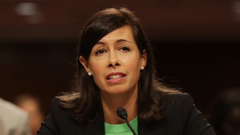 FCC Commissioner Jessica Rosenworcel testifies before the Senate Commerce, Science and Transportation Committee during her confirmation hearing on Capitol Hill July 19, 2017 (Photo: Getty)
