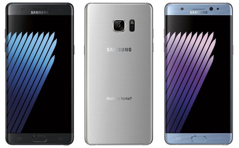 Se filtran imágenes del Galaxy Note 7, y tendría sensor de reconocimiento de iris