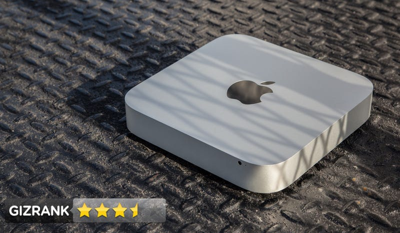 Illustration for article titled Mac Mini Review: Apple's Tiny Computer Is Finally Worth Your Time