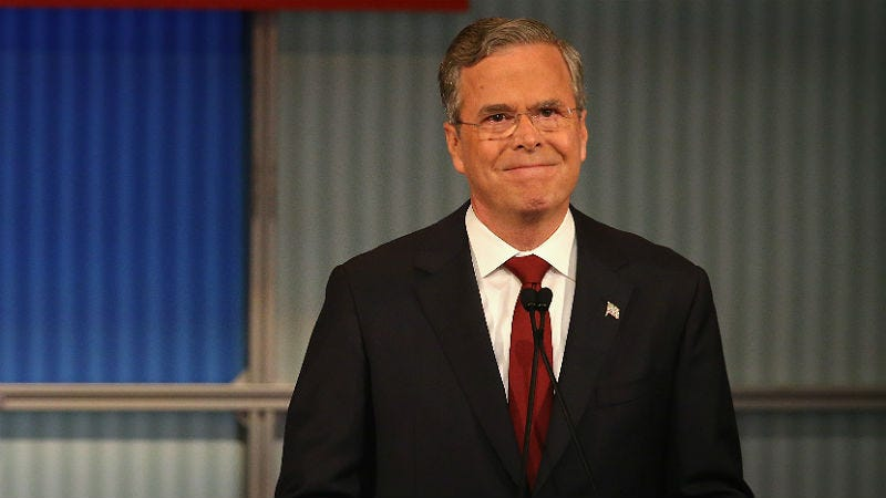 Illustration for article titled Jeb Bush, Man Related to 2 Former Presidents, Says He's No Political Insider