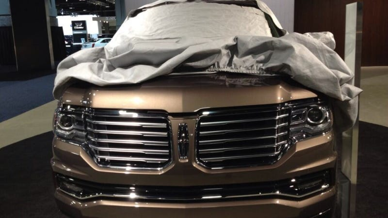 Illustration for article titled 2015 Lincoln Navigator: This Is It