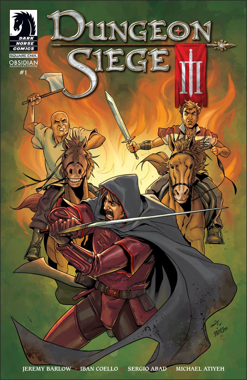 Illustration for article titled Dark Horse Digital Comics Debuts with Dungeon Siege III