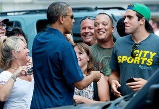 President Barack Obama on Martha's Vineyard (Getty Images)