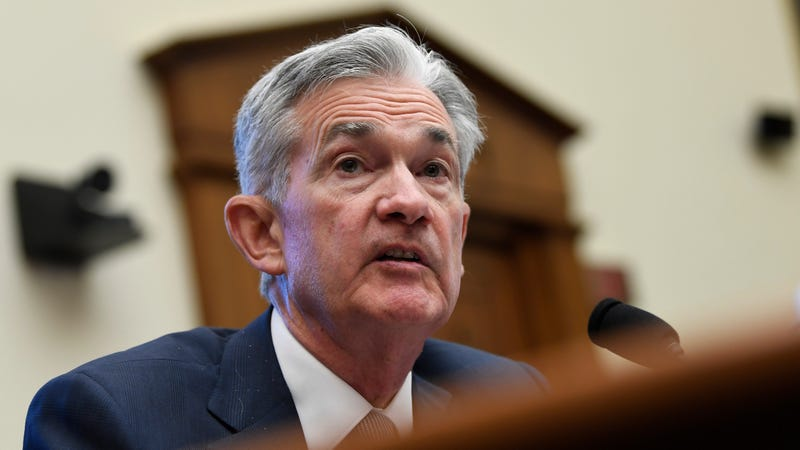 Federal Reserve Chairman Jerome Powell at a House Financial Services Committee meeting on July 10, 2019.