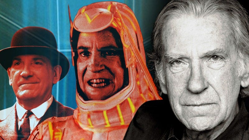 David Warner in Titanic, Tron, and present day. Graphic: Jimmy Hasse