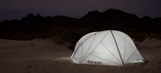 Illustration for article titled These Snow-White Tents Offer Shelter With Lightweight Fabric Ribs