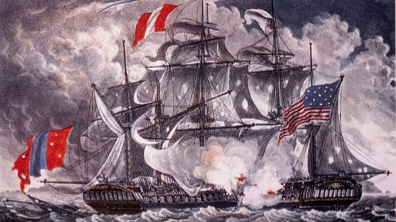 Battle between the Constellation and the L'Insurgente, February 9, 1799.