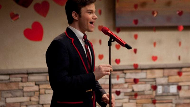 """Illustration for article titled Glee: """"Silly Love Songs"""""""