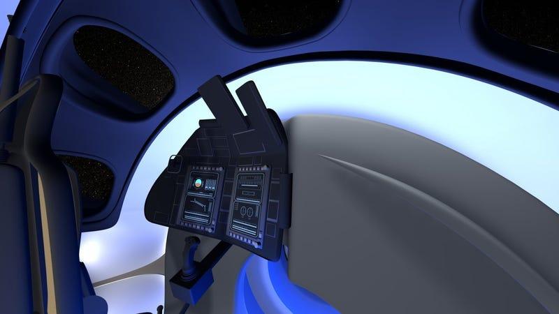 Illustration for article titled Así será la cápsula espacial de Boeing para viajes comerciales