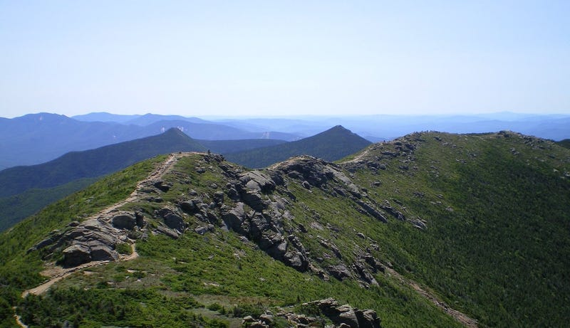 Franconia ridge, New Hampshire. Image: Wikimedia