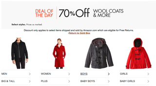 Illustration for article titled Bundle Up With These Discounted Coats, Gloves, and More From Amazon