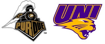 Illustration for article titled NCAA First Round: (5) Purdue  vs. (12) Northern Iowa