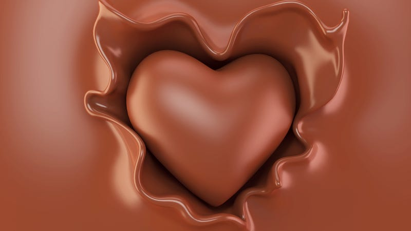 Illustration for article titled Novice confectioner creates dairy-free chocolate for wife with milk allergy